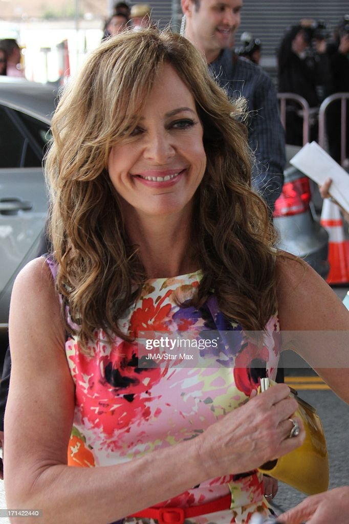 Allison Janney as seen on June 23, 2013 in Los Angeles, California.