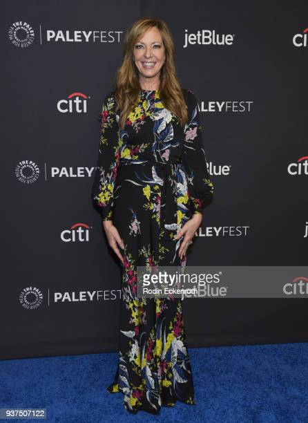 Allison Janney attends 2018 PaleyFest Los Angeles CBS's Mom at Dolby Theatre on March 24 2018 in Hollywood California