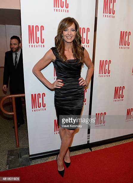 Allison Janney attends Miscast 2014 at Hammerstein Ballroom on March 31 2014 in New York City