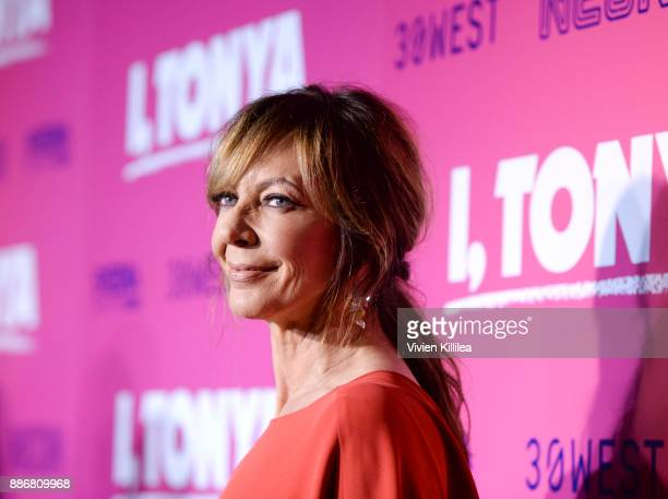 Allison Janney attends NEON and 30WEST Present the Los Angeles Premiere of 'I Tonya' Supported By Svedka on December 5 2017 in Los Angeles California