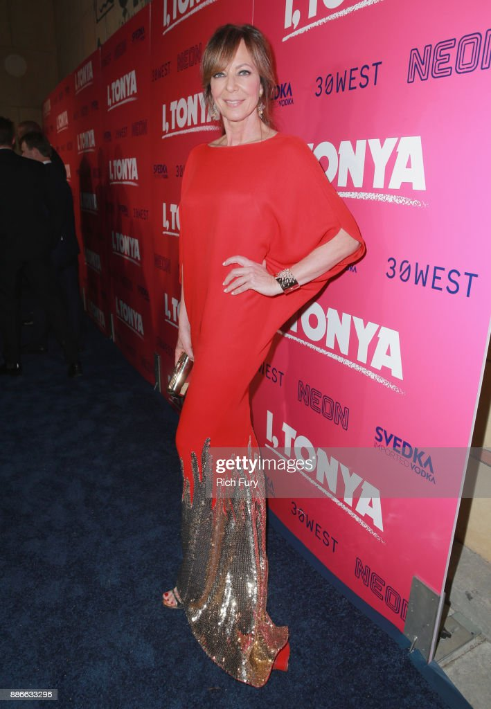 Allison Janney attends Premiere Of Neon And 30 West's I, Tonya' at the Egyptian Theatre on December 5, 2017 in Hollywood, California.