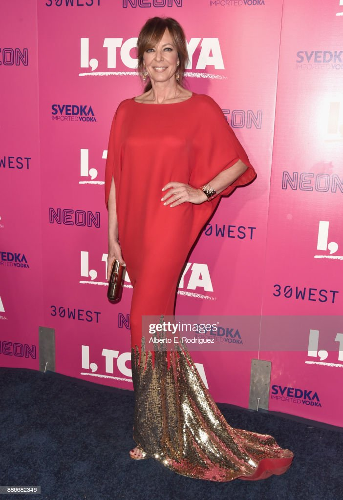 Allison Janney attends Premiere Of Neon's 'I, Tonya' at the Egyptian Theatre on December 5, 2017 in Hollywood, California.
