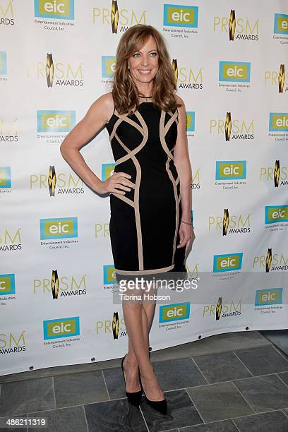 Allison Janney attends the 18th annual PRISM awards at Skirball Cultural Center on April 22 2014 in Los Angeles California
