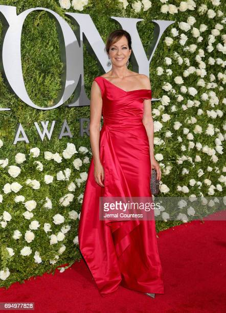 Allison Janney attends the 2017 Tony Awards at Radio City Music Hall on June 11 2017 in New York City