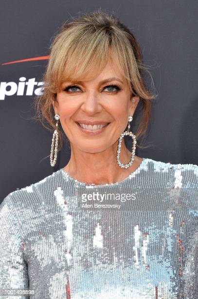 Allison Janney attends The 2018 ESPYS at Microsoft Theater on July 18 2018 in Los Angeles California