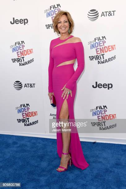 Allison Janney attends the 2018 Film Independent Spirit Awards on March 3 2018 in Santa Monica California
