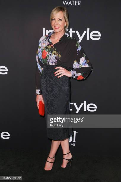 Allison Janney attends the 2018 InStyle Awards at The Getty Center on October 22 2018 in Los Angeles California