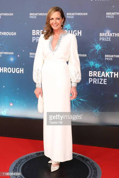 Allison Janney attends the 2020 Breakthrough Prize Ceremony at NASA Ames Research Center on November 03 2019 in Mountain View California
