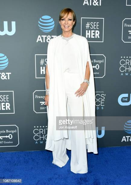 Allison Janney attends the 24th annual Critics' Choice Awards at Barker Hangar on January 13 2019 in Santa Monica California