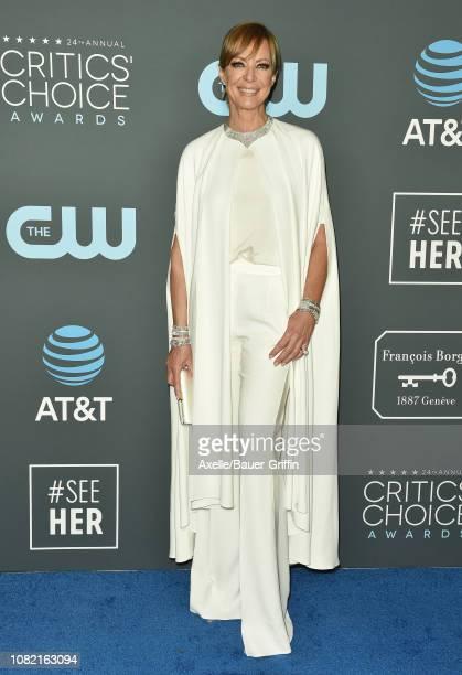 Allison Janney attends the 24th annual Critics' Choice Awards at Barker Hangar on January 13, 2019 in Santa Monica, California.