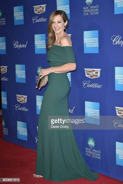 Allison Janney attends the 29th Annual Palm Springs International Film Festival Film Awards Gala Arrivals at Palm Springs Convention Center on...