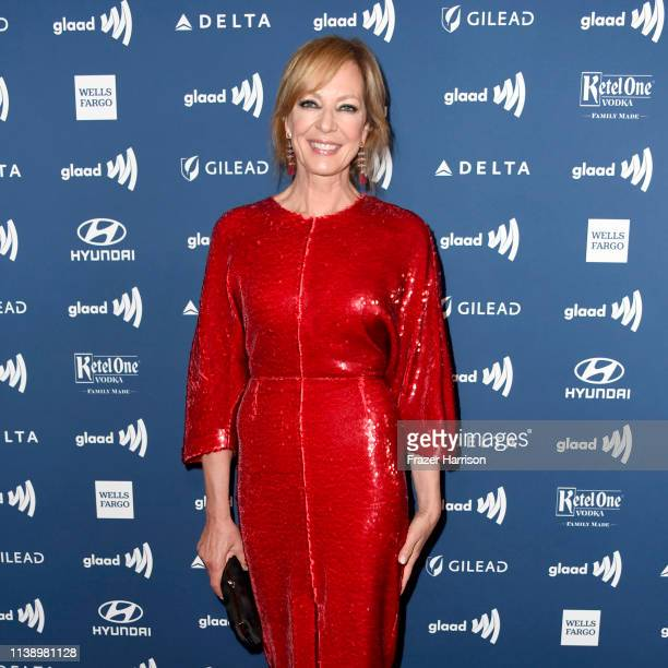 Allison Janney attends the 30th Annual GLAAD Media Awards at The Beverly Hilton Hotel on March 28 2019 in Beverly Hills California
