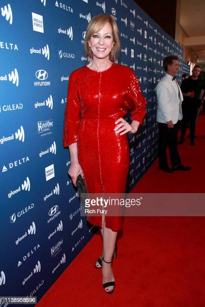 Allison Janney attends the 30th Annual GLAAD Media Awards Los Angeles at The Beverly Hilton Hotel on March 28, 2019 in Beverly Hills, California.