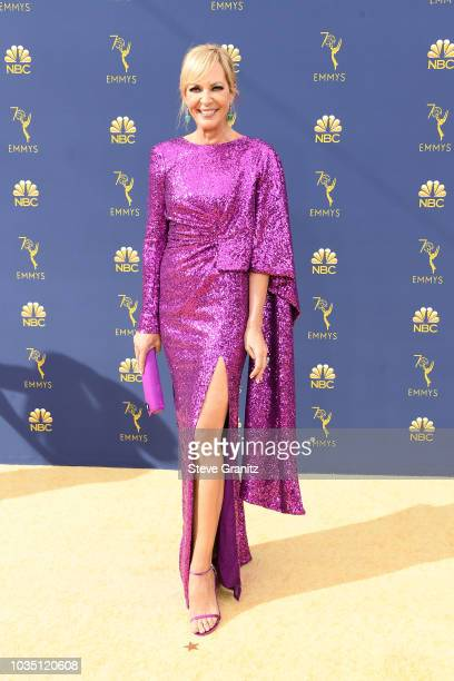 Allison Janney attends the 70th Emmy Awards at Microsoft Theater on September 17 2018 in Los Angeles California