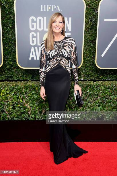 Allison Janney attends The 75th Annual Golden Globe Awards at The Beverly Hilton Hotel on January 7 2018 in Beverly Hills California