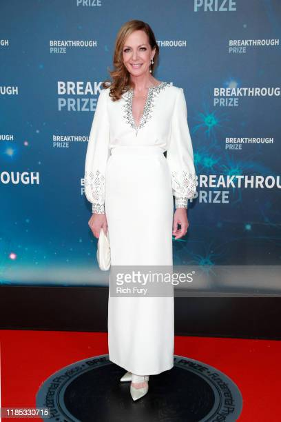 Allison Janney attends the 8th Annual Breakthrough Prize Ceremony at NASA Ames Research Center on November 03 2019 in Mountain View California