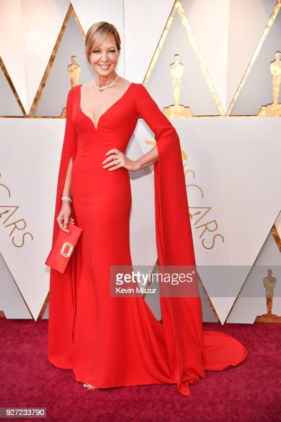 Allison Janney attends the 90th Annual Academy Awards at Hollywood Highland Center on March 4 2018 in Hollywood California