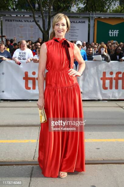 Allison Janney attends the Bad Education premiere during the 2019 Toronto International Film Festival at Princess of Wales Theatre on September 08...