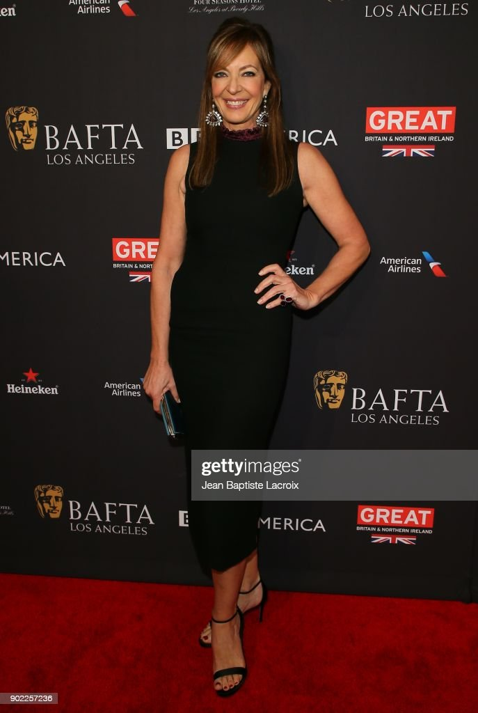 Allison Janney attends The BAFTA Los Angeles Tea Party at Four Seasons Hotel Los Angeles at Beverly Hills on January 6, 2018 in Los Angeles, California.