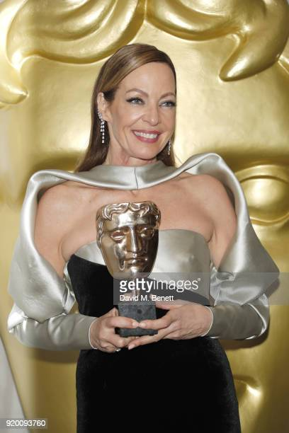 Allison Janney attends the EE British Academy Film Awards gala dinner held at Grosvenor House on February 18 2018 in London England
