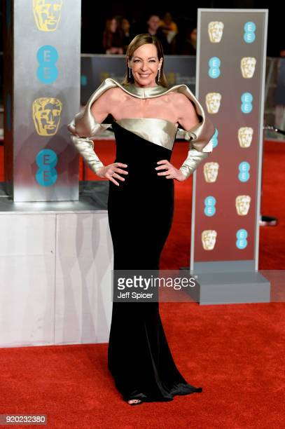 Allison Janney attends the EE British Academy Film Awards held at Royal Albert Hall on February 18 2018 in London England