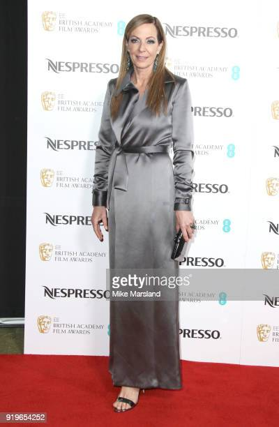 Allison Janney attends the EE British Academy Film Awards nominees party at Kensington Palace on February 17 2018 in London England