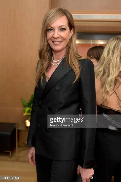 Allison Janney attends The Hollywood Reporter 6th Annual Nominees Night at CUT on February 5 2018 in Beverly Hills California