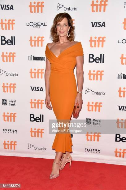 Allison Janney attends the I Tonya premiere during the 2017 Toronto International Film Festival at Princess of Wales Theatre on September 8 2017 in...