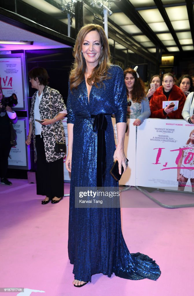 Allison Janney attends the 'I, Tonya' UK premiere held at The Curzon Mayfair on February 15, 2018 in London, England.