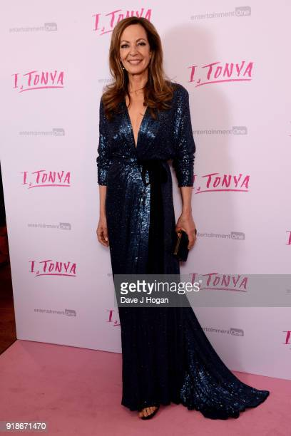Allison Janney attends the 'I Tonya' UK premiere held at The Washington Mayfair Hotel on February 15 2018 in London England