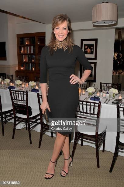Allison Janney attends the Opening of Beverly Hills Boutique with a private VIP dinner hosted by Giovanni Morelli Stuart Weitzman Creative Director...