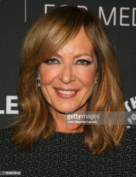 Allison Janney attends the Paley Honors A Special Tribute To Television's Comedy Legends at the Beverly Wilshire Four Seasons Hotel on November 21...