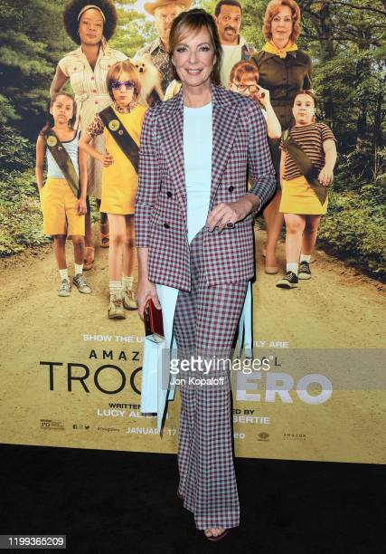Allison Janney attends the premiere of Amazon Studios' Troop Zero at Pacific Theatres at The Grove on January 13 2020 in Los Angeles California
