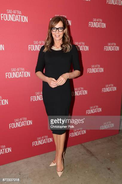 Allison Janney attends the SAGAFTRA Foundation Patron of the Artists Awards 2017 at the Wallis Annenberg Center for the Performing Arts on November 9...