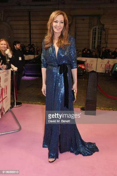 Allison Janney attends the UK Premiere of 'I Tonya' held at The Curzon Mayfair on February 15 2018 in London England