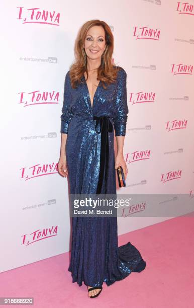 Allison Janney attends the UK Premiere of 'I Tonya' held at The Washington Mayfair on February 15 2018 in London England