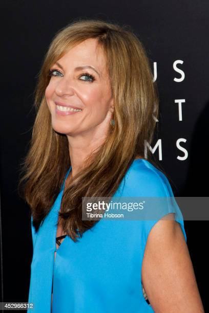 Allison Janney attends the Weinstein Company short films presented by Lexus at Regal Cinemas LA Live on July 30 2014 in Los Angeles California