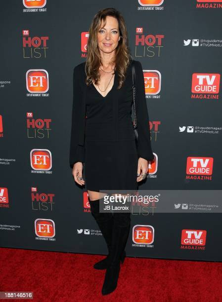 Allison Janney attends TV Guide Magazine's Annual Hot List Party at The Emerson Theatre on November 4 2013 in Hollywood California