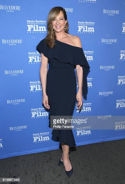 Allison Janney celebrates with Belvedere Vodka at The Santa Barbara International Film Festival at Arlington Theatre on February 8 2018 in Santa...