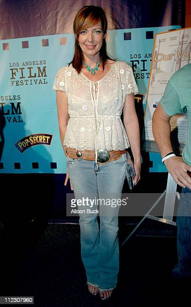 Allison Janney during 2005 Los Angeles Film Festival 'Our Very Own' Screening at Directors Guild of America in Los Angeles California United States