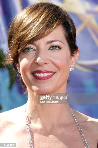 Allison Janney during 58th Annual Primetime Emmy Awards Arrivals at Shrine Auditorium in Los Angeles California United States