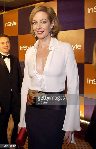 Allison Janney during InStyle Magazine Hosts Fourth Annual PostGolden Globes Party to Honor Hollywood's Elite Arrivals at The Beverly Hilton Hotel in...