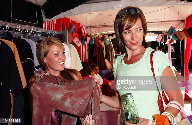 Allison Janney during The Silver Spoon Beauty Buffet Sponsored By Allure at Private Residence in Hollywood California United States