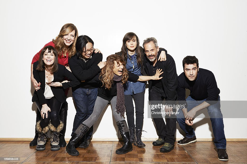 Cast of Touchy Feely, Entertainment Weekly, January 20, 2013