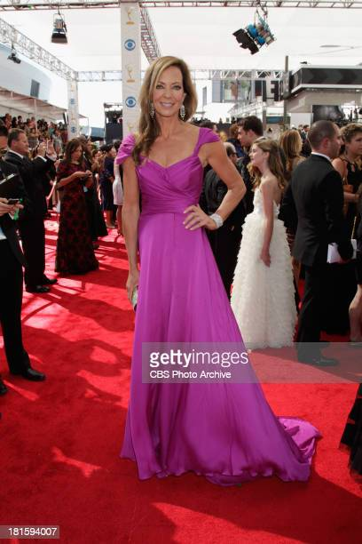 Allison Janney from Mom on the red carpet for the 65th Primetime Emmy Awards which will be broadcast live across the country 8001100 PM ET/ 500800 PM...