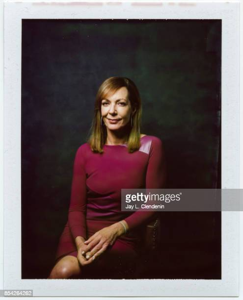 Allison Janney from the film 'Kodachrome' is photographed on polaroid film at the LA Times HQ at the 42nd Toronto International Film Festival in...
