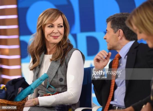 AMERICA Allison Janney is a guest on 'Good Morning America' Monday December 11 airing on the ABC Television Network ALLISON