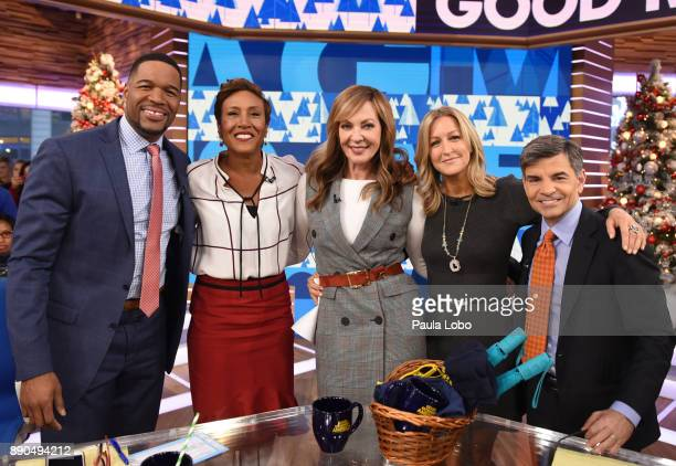 AMERICA Allison Janney is a guest on Good Morning America Monday December 11 airing on the Walt Disney Television via Getty Images Television Network...