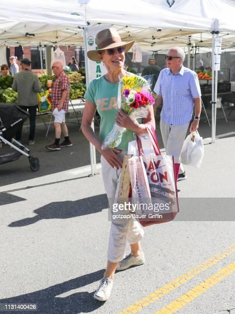 Allison Janney is seen on March 17 2019 in Los Angeles California