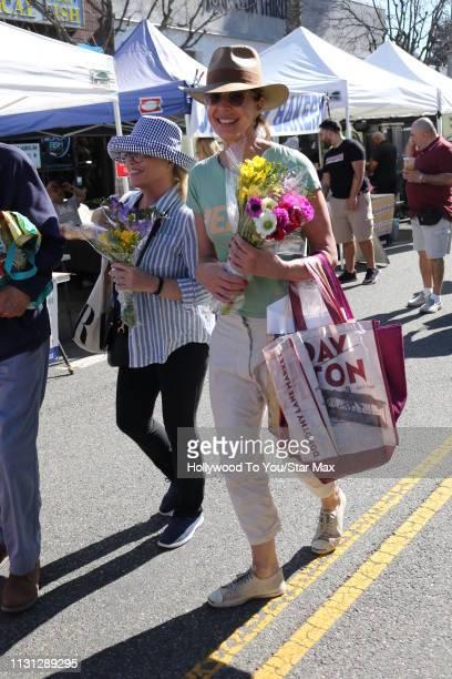 Allison Janney is seen on March 17 2019 in Los Angeles